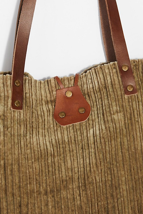 Slide View 5: We The Free Corduroy Washed Tote
