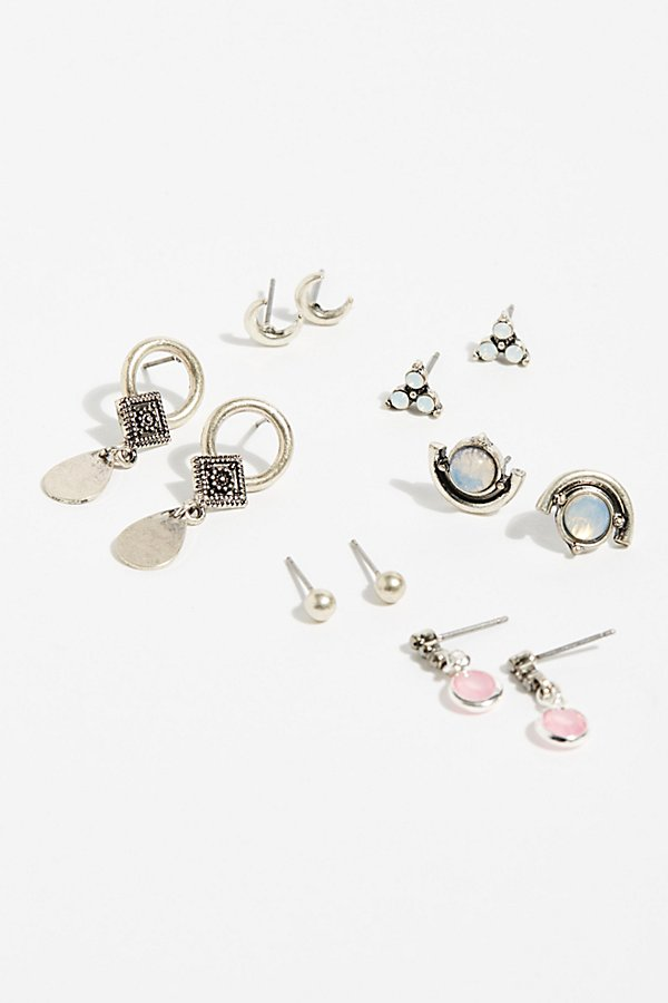 Slide View 2: Glimmer Stud Earring Set