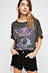 Thumbnail View 1: Aerosmith Boyfriend Tee