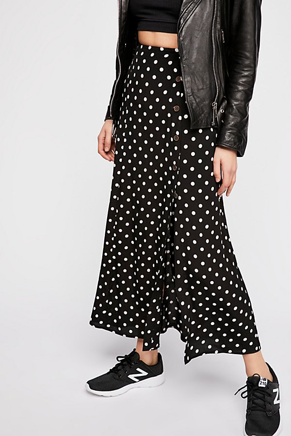 Slide View 3: Retro Love Midi Skirt