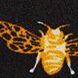 黑底蜜蜂图案
