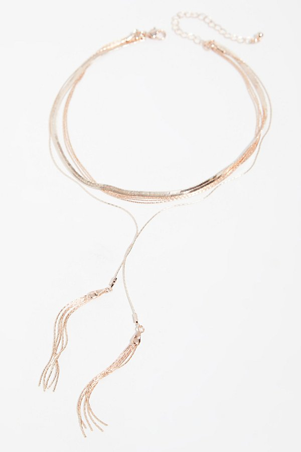 Slide View 2: Goldspun Bolo Necklace
