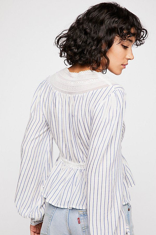 Slide View 3: Oberoi Stripe Top