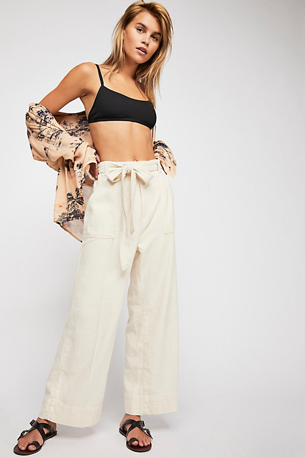 Slide View 1: Harper Wide Leg Trousers
