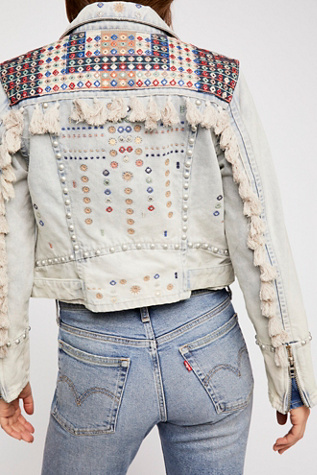 Wandering Wind Denim Jacket by Free People