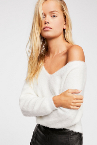 Princess V Neck Sweater by Free People