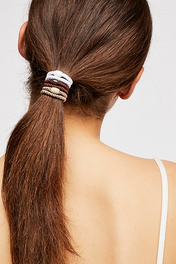 Slide View 4: Cast Away Hair Tie Set