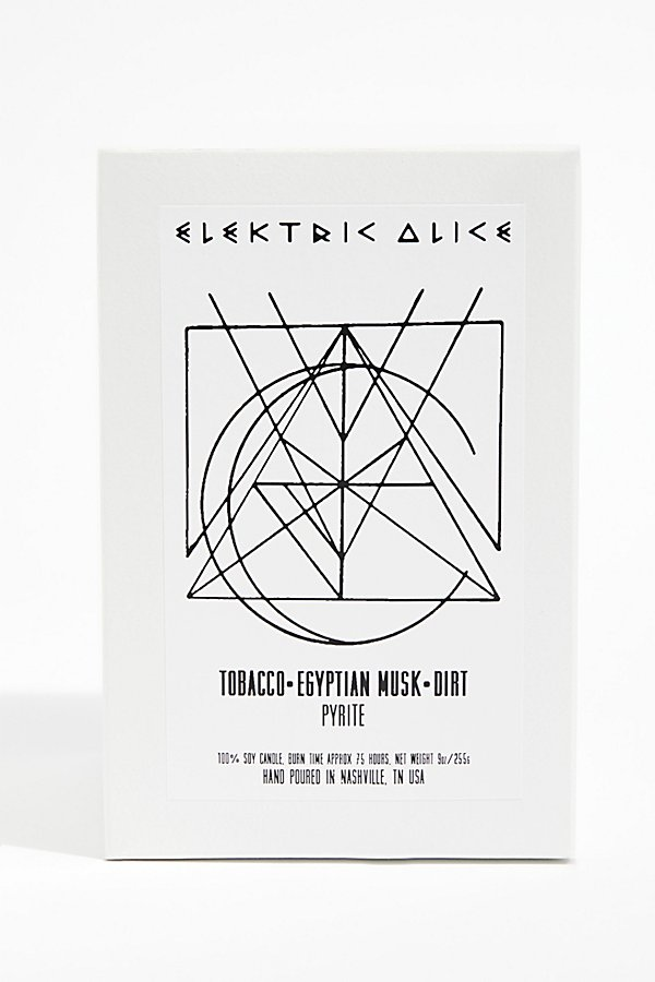 Slide View 2: Elektric Alice Soy Quartz Crystal Candle - The White Collection