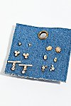 Thumbnail View 2: Tiny Spark Stud Earring Set