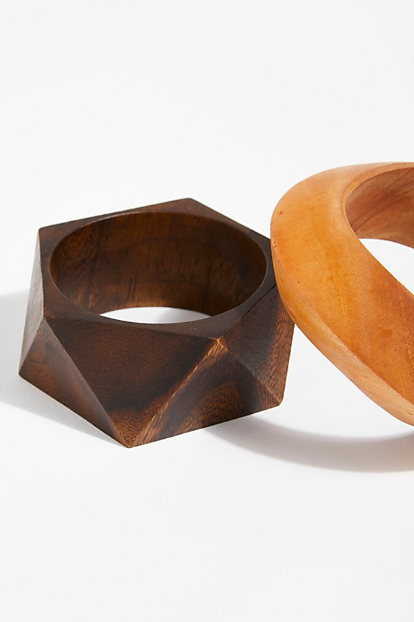 Slide View 1: Wooden Bangle