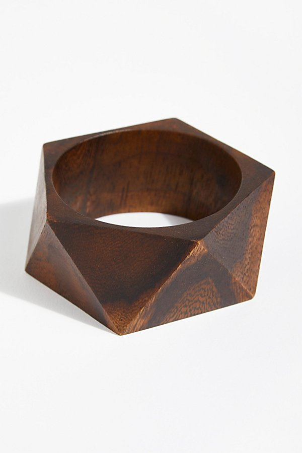 Slide View 3: Wooden Bangle