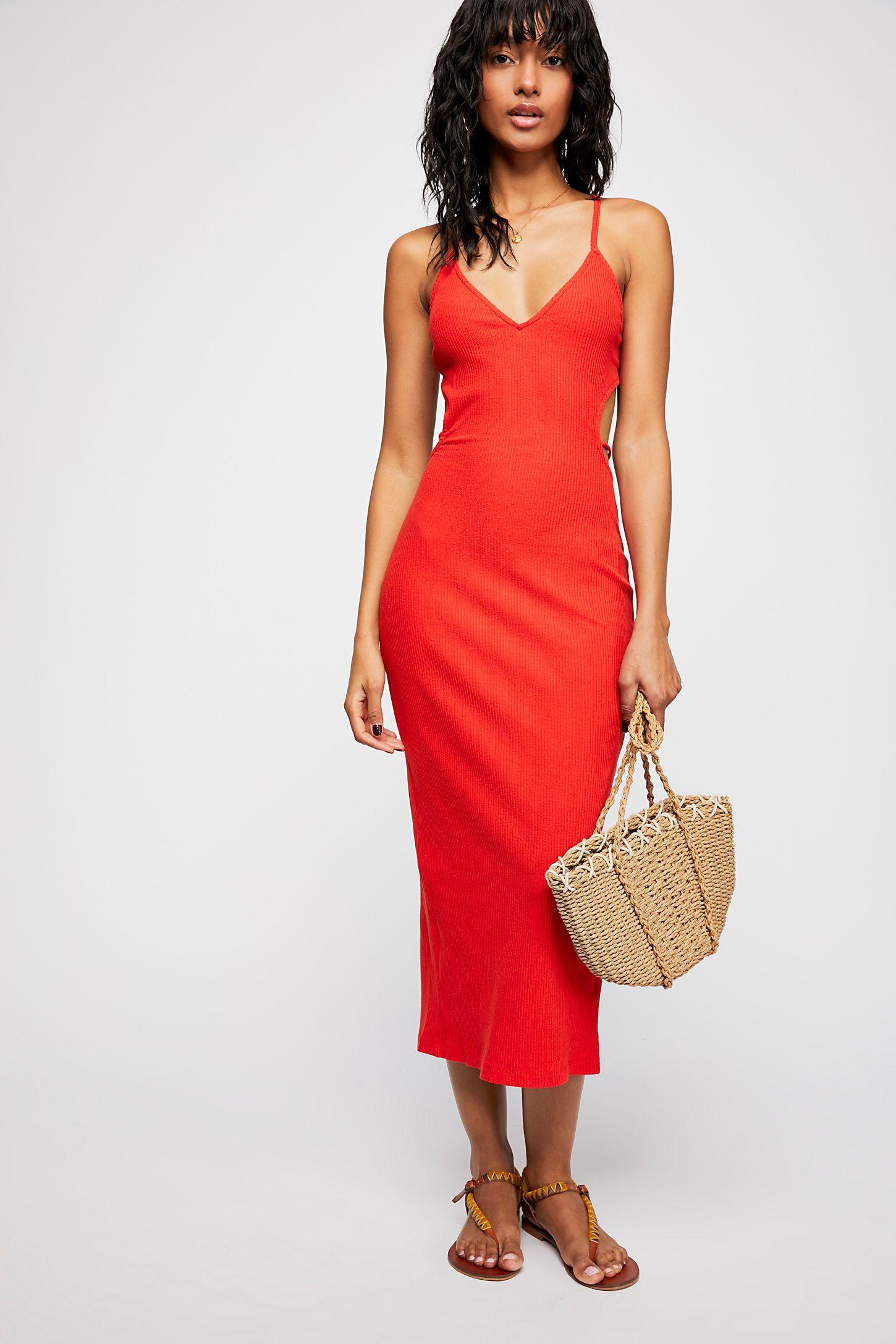 Hot Toddy Midi Dress | Free People