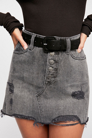 Cleo Suede Belt by Free People