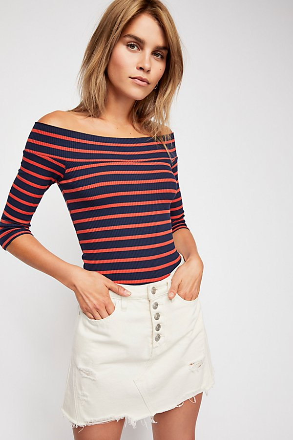 Slide View 1: We The Free Iris Off-The-Shoulder Top