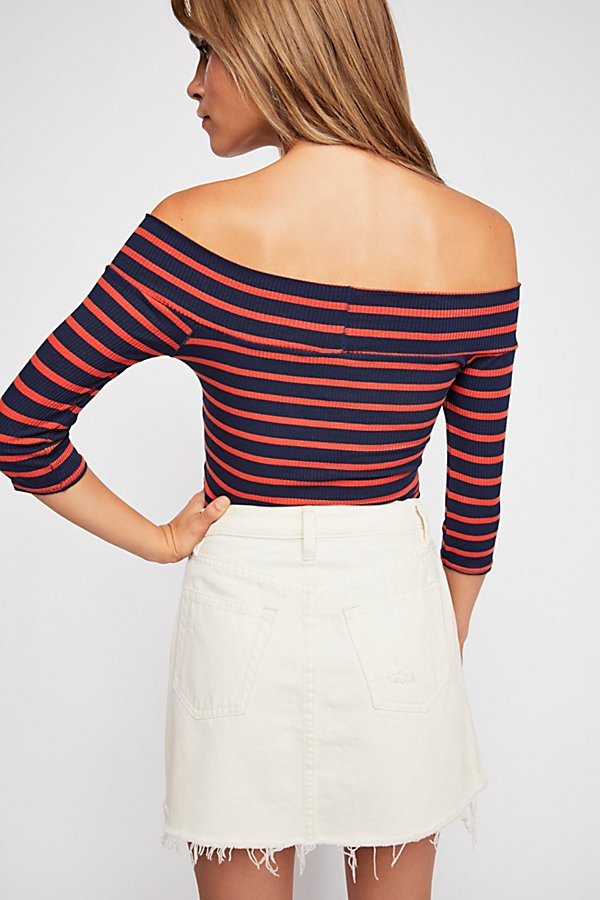 Slide View 2: We The Free Iris Off-The-Shoulder Top