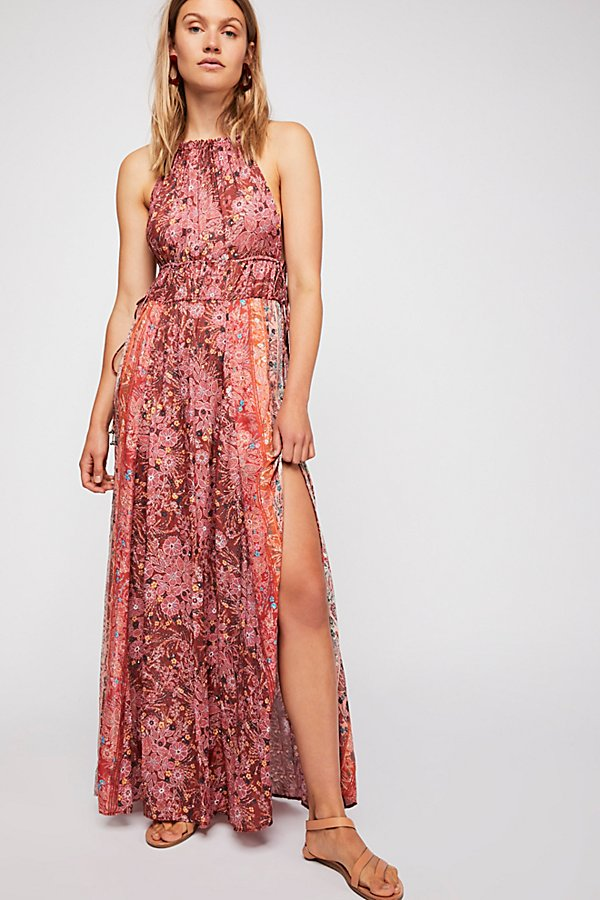 Slide View 1: Celeste Printed Maxi