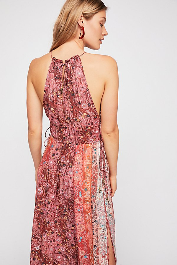 Slide View 3: Celeste Printed Maxi