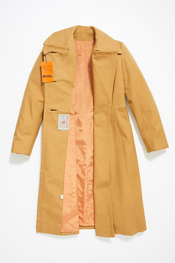 Slide View 3: Vintage Rain Coat