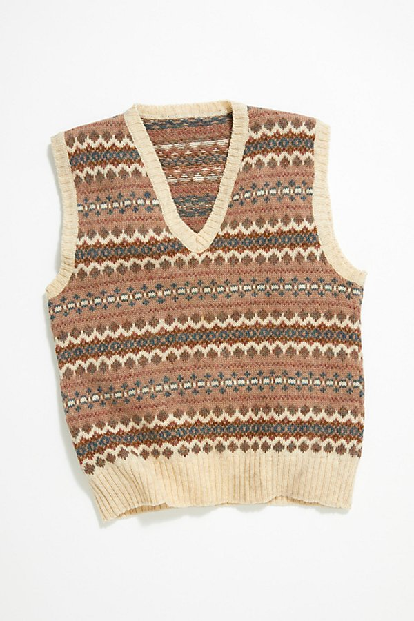 Slide View 1: Vintage Sweater Vest