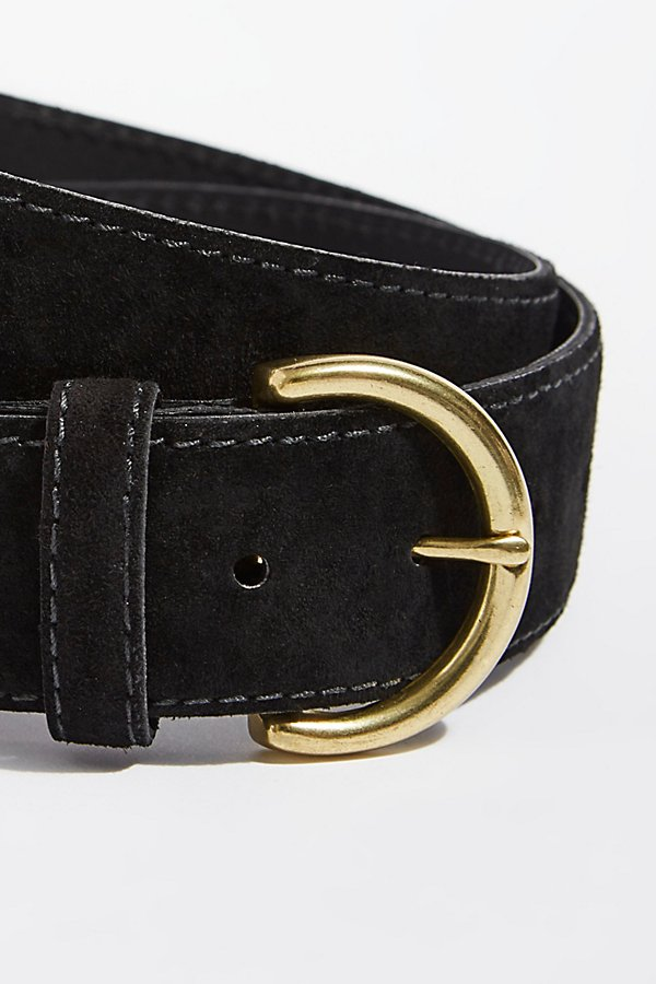 Slide View 3: Oceanview Suede Belt
