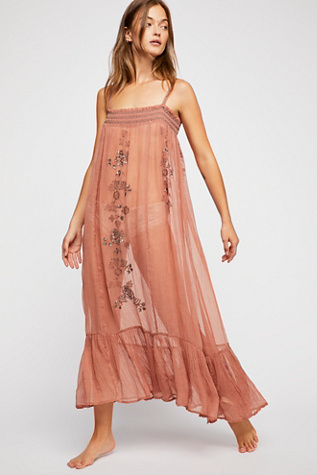 New Moon Embellished Slip by Free People