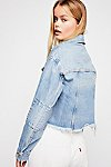 Thumbnail View 4: Cropped Denim Jacket