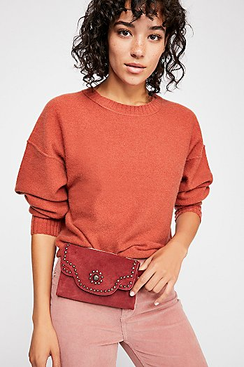 Talia Distressed Belt Bag
