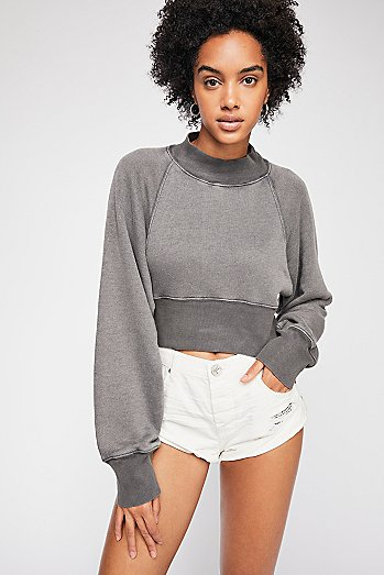 Keep It Cropped Pullover