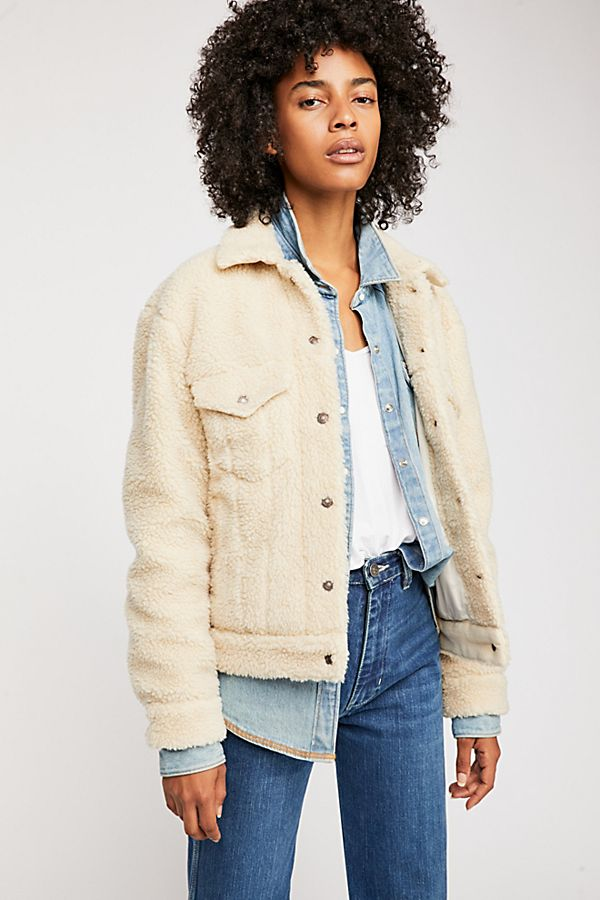 All Over Sherpa Trucker Jacket