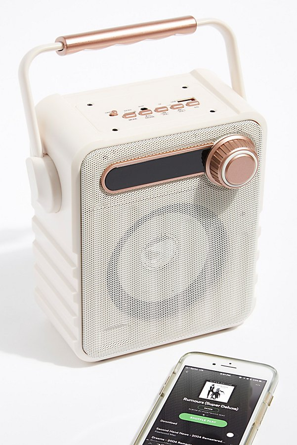 Slide View 1: Retro Wireless Speaker