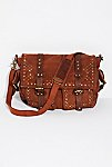 Thumbnail View 2: Studded Distressed Messenger Bag
