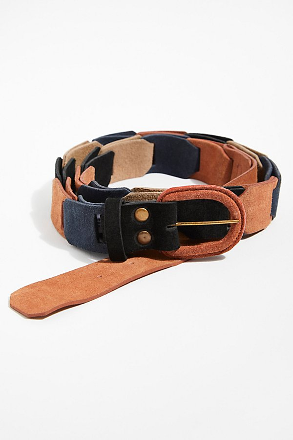 Slide View 1: Highlands Suede Belt