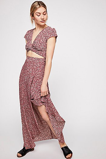 All Wrapped Up Maxi Dress