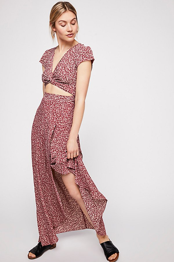 Slide View 1: All Wrapped Up Maxi Dress
