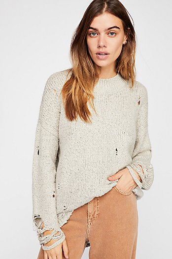 Laddered Whiskey Sweater