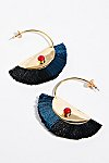 Thumbnail View 2: Nectar Nectar Fringe Hoop Earrings