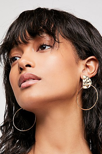Nectar Nectar Thatch Hoop Earrings