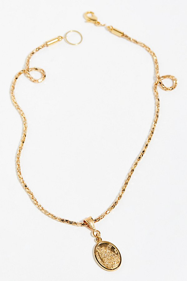 Slide View 2: The Gold Guardian Necklace