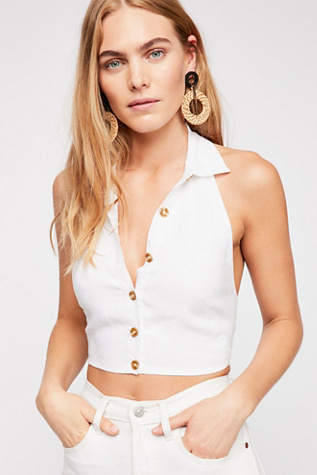 Nellie Halter Top by Free People
