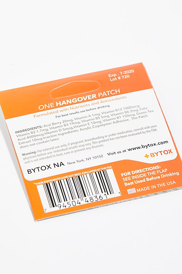 Slide View 2: Bytox Hangover Patch