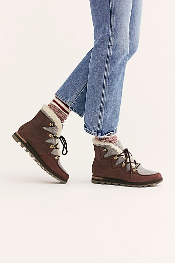 Sneakchic Alpine Weather Boots
