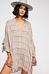 Thumbnail View 1: FP One Sunday Morning Plaid Tunic