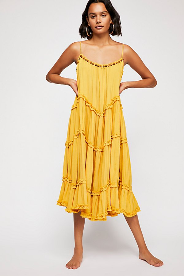 Slide View 3: Fallin' Hard Midi Dress