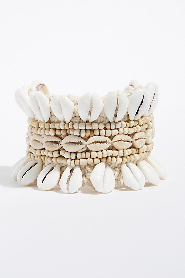 Slide View 2: Cowrie Ankle Cuff