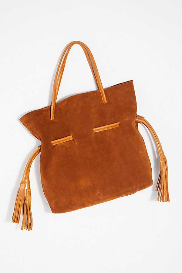 Slide View 3: Auguste Suede Tote