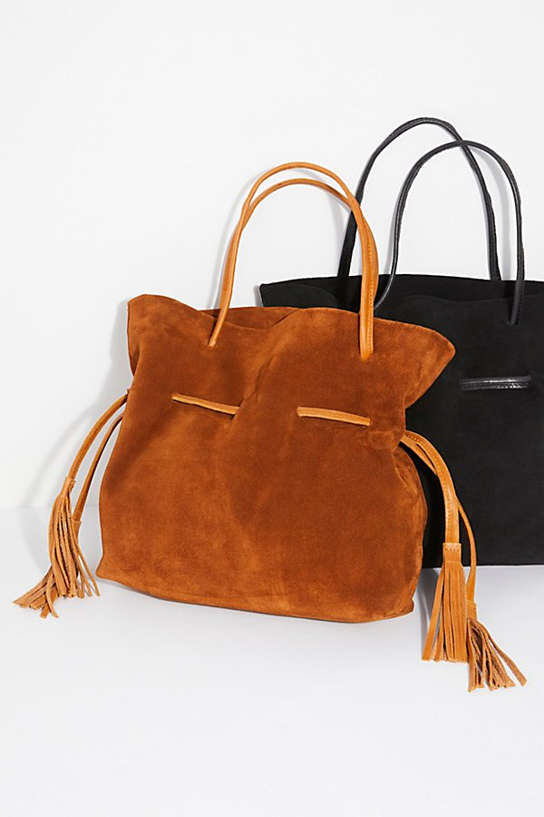 Slide View 1: Auguste Suede Tote