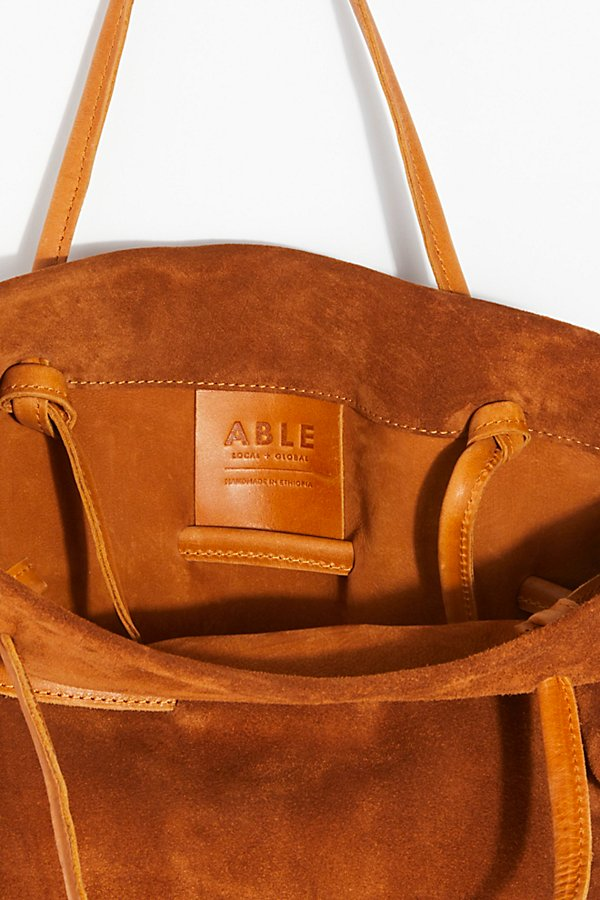 Slide View 6: Auguste Suede Tote