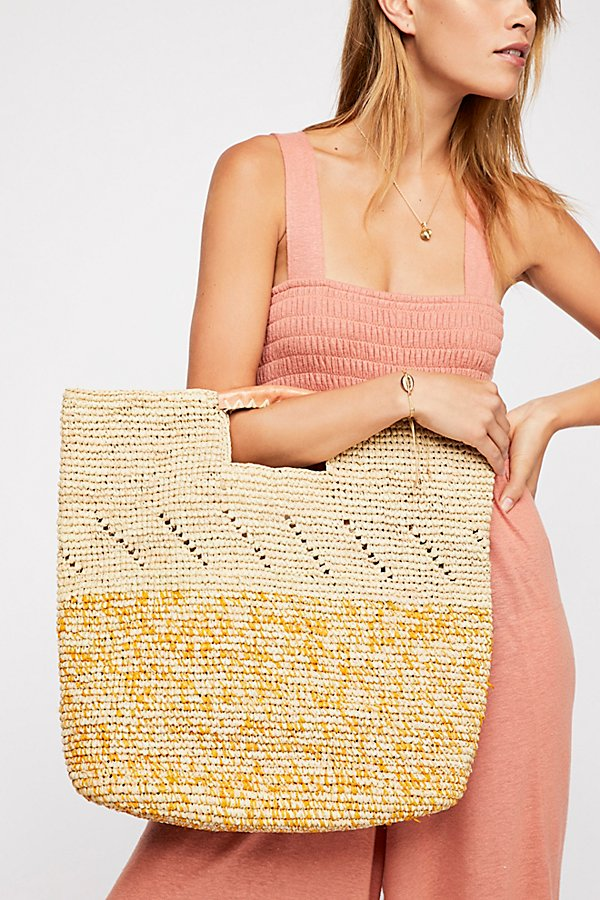 Slide View 1: Montaigne Straw Tote