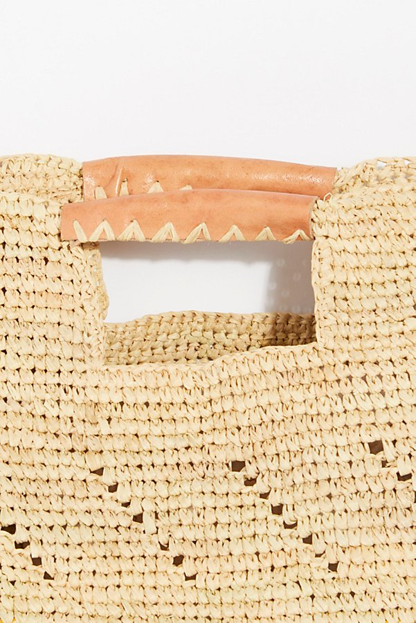 Slide View 3: Montaigne Straw Tote