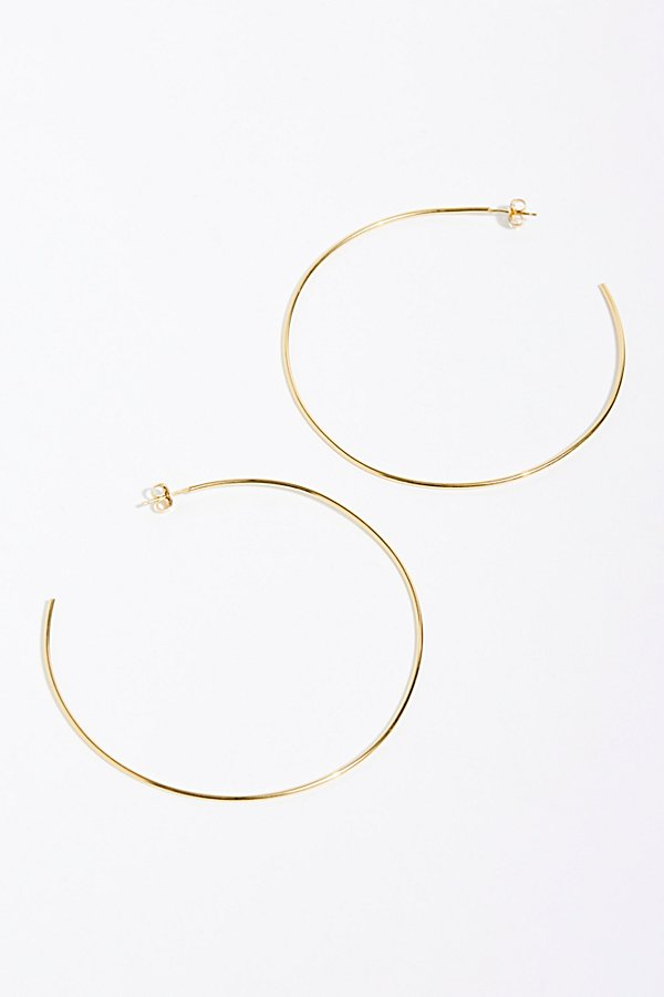 Slide View 2: Gold Fill Lala Hoop Earrings